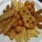 Картофельная тарелка